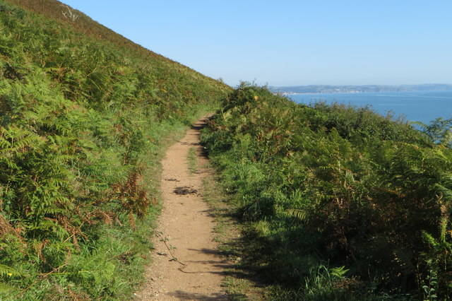 South West Coast Path going North