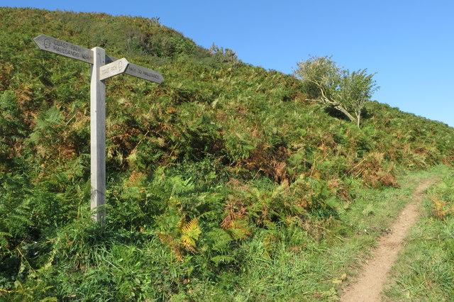 Permissive path to Hallsands