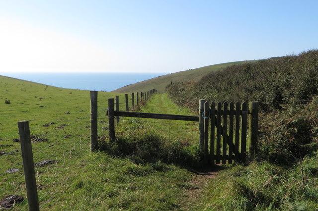 Footpath to Mattiscombe