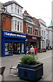 SO2914 : Carphone Warehouse and Costa, High Street, Abergavenny by Jaggery
