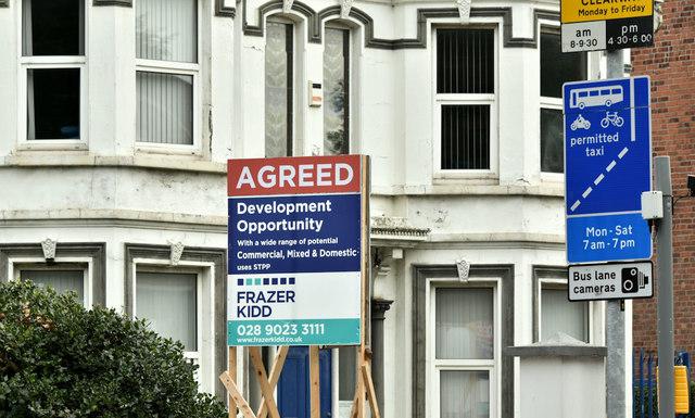 No 236 Upper Newtownards Road, Belfast (September 2018)