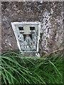 SE2240 : OS Flush Bracket S1818, Plane Tree Hill Trig Pillar, Yeadon by Stephen Armstrong