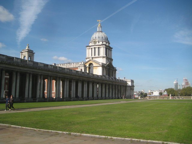 Greenwich: Old Royal Naval College: King William's Quarter Building (1)