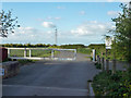 TQ8891 : Gate on Doggetts Chase, Rochford by Robin Webster