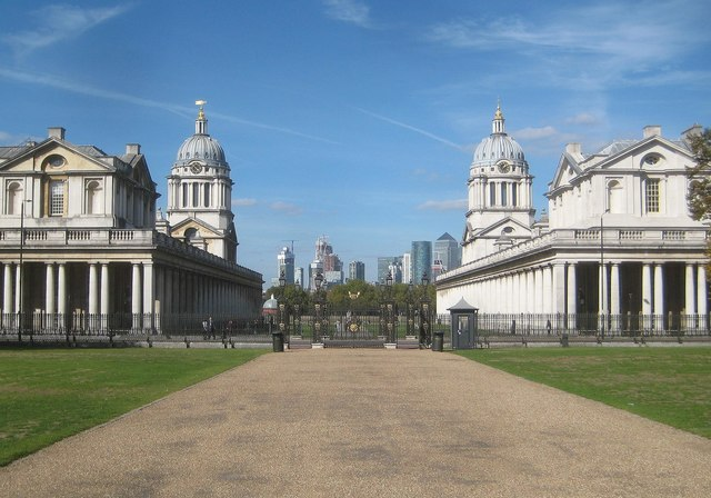 Greenwich: Old Royal Naval College: King William & Queen Mary's Quarters