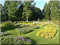 TL5238 : Part of the parterre garden, Audley End by Humphrey Bolton