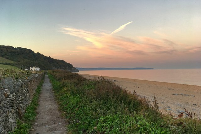 South West Coast Path out of Beesands