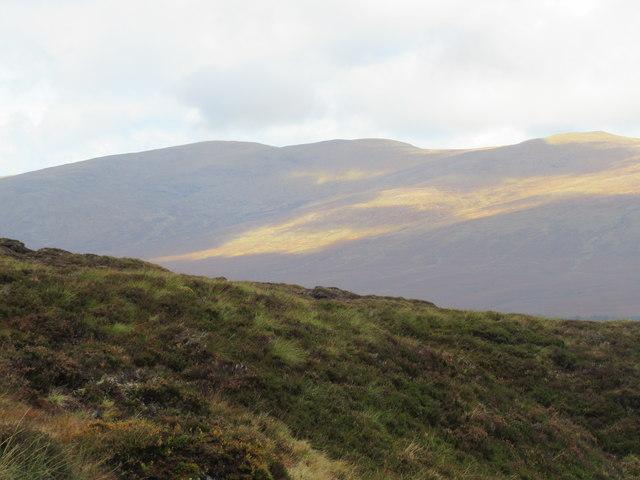 Sron a' Bhuirich in upper Speyside