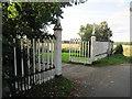 TF9200 : Gates  at  the  entrance  to  Church  Walk by Martin Dawes