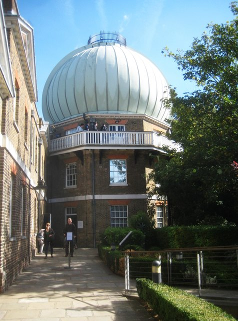 Greenwich: The Old Royal Observatory: The former Great Equatorial Telescope Building