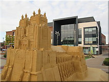 TA0339 : Beverley  Minster  modeled  from  30  tons  of  sand by Martin Dawes