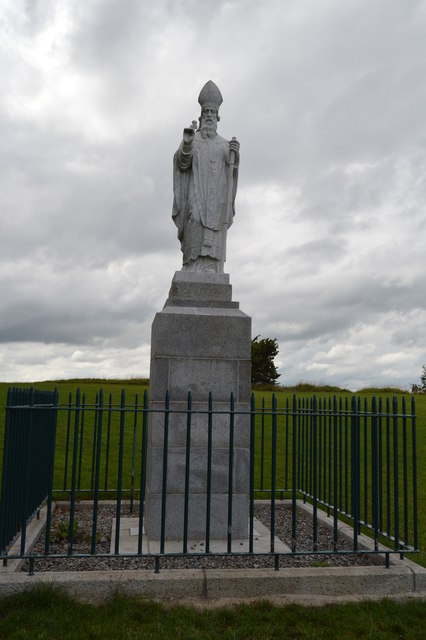Statue of St Patrick, Hill of Tara