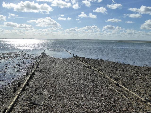 Path into the sea