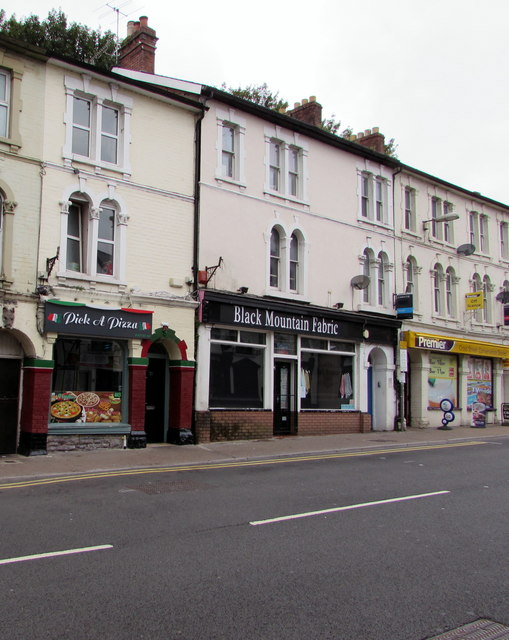 Pick A Pizza In Abergavenny Jaggery Geograph Britain