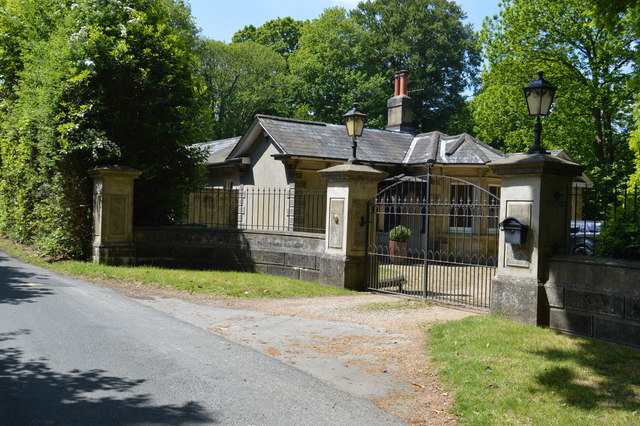 Lodge, Blackhurst Lane by N Chadwick