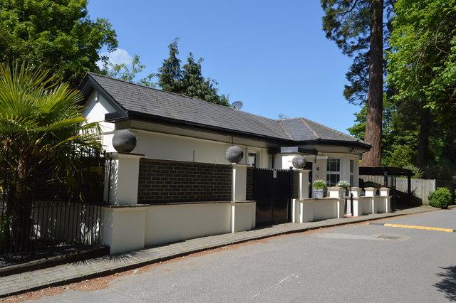 Lodge, Pembury Rd by N Chadwick