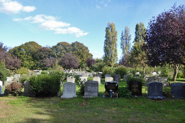 In Sutton Road Cemetery