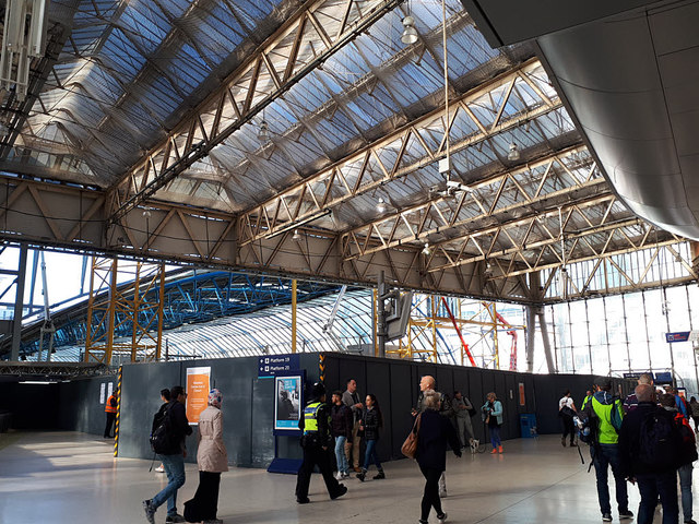 Waterloo Eurostar terminal under conversion
