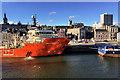 NJ9406 : Aberdeen Harbour, Offshore Support Vessel at Regent Quay by David Dixon