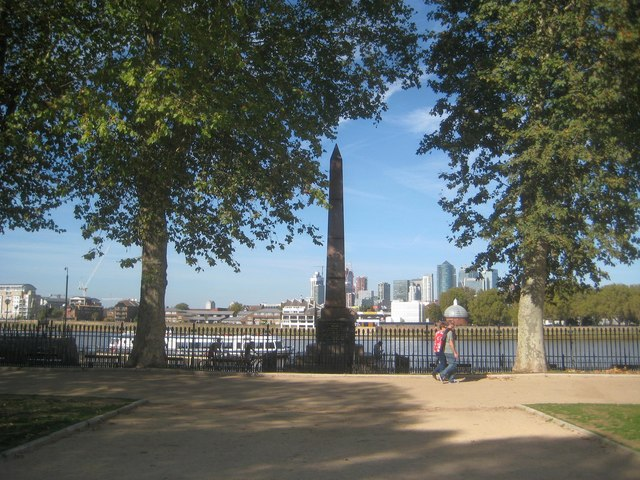 Greenwich: The Bellot Memorial