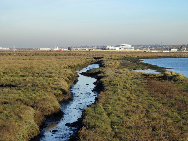 Tailness Marshes by West Swale