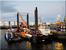 NJ9505 : Pocra Quay, Aberdeen Harbour by David Dixon