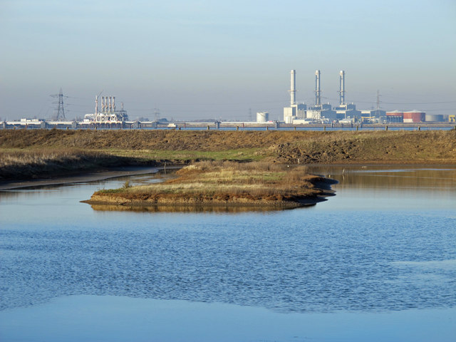 Large pond in Tailness Marshes (3)