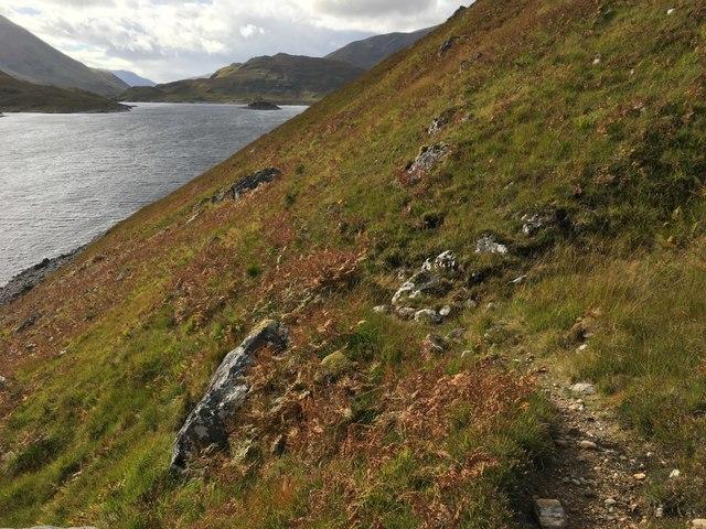 Loch Mullardoch path