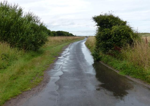 England Coast Path at the Druridge Pools Nature Reserve