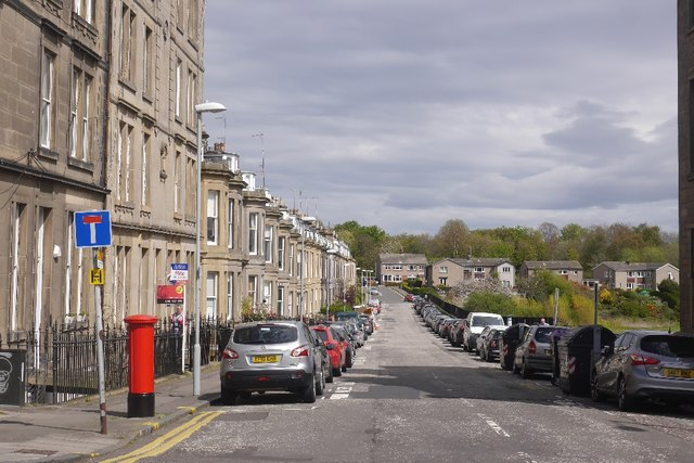 Eildon Street by Richard Webb