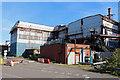 SE9111 : Appleby Frodingham Steelworks - derelict plate mill by Chris Allen