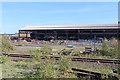 SE9111 : Appleby Frodingham Steelworks - plate mill demolition by Chris Allen