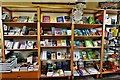 SO9463 : Hanbury Hall: Books for sale in the National Trust shop by Michael Garlick