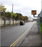 SS9497 : Yellow speed camera, Baglan Street, Treherbert by Jaggery