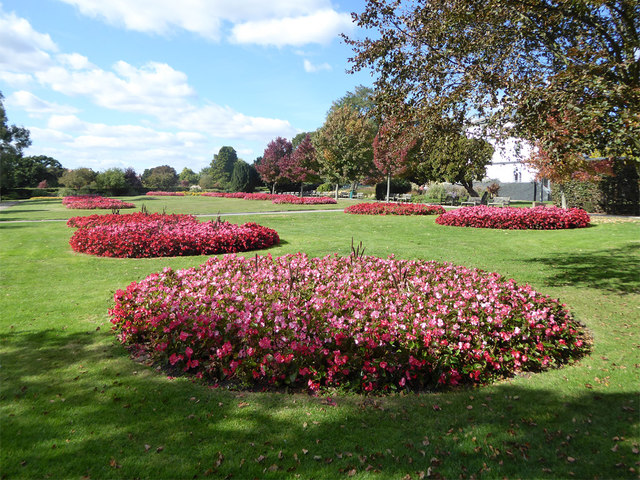 Flower beds, Chalkwell Park