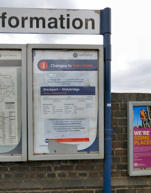 Changes to train times