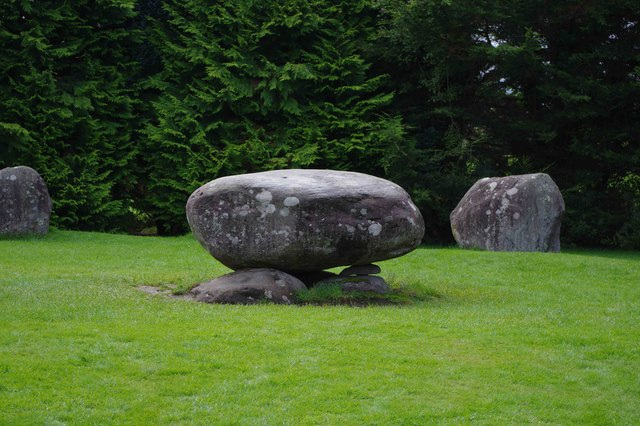 Dolmen in stone circle, Kenmare, Co Kerry