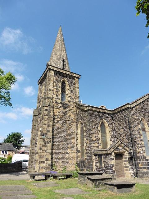 Bradford, Low Moor, West Yorkshire, Holy Trinity