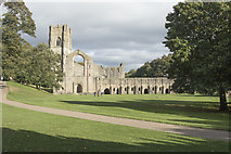 SE2768 : Fountains Abbey by Malcolm Neal