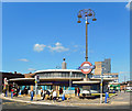 TQ2994 : Southgate Underground Station by Des Blenkinsopp