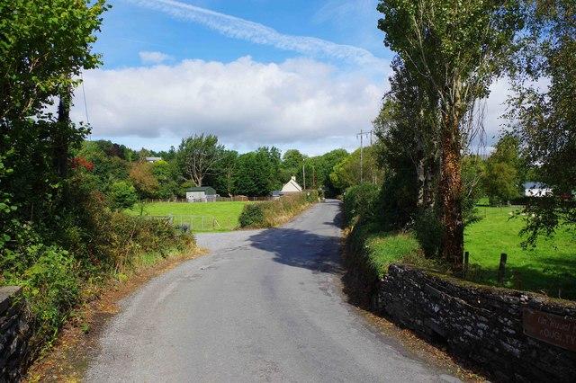 Road from Slaheny Bridge to Kilgarvan, Co. Kerry