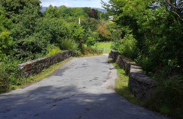 Bridge over Roughty River, near Slaheny Bridge, Co. Kerry