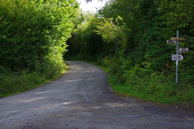 Minor road near Slaheny Bridge, Co Kerry