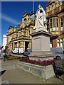 SP3165 : Queen Victorian and the Town Hall by Philip Halling