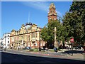 SP3165 : Royal Leamington Spa Town Hall by Philip Halling