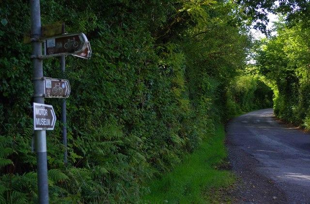 Minor road near Slaheny Bridge, Co. Kerry