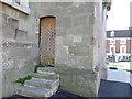 ST8806 : Church of SS Peter & Paul - tower door by Stephen Craven