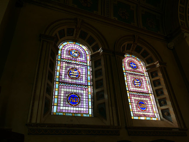 Church of SS Peter & Paul - stained glass windows