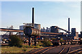 SE9111 : Appleby Frodingham Steelworks - tank and Appleby Coke Ovens by Chris Allen