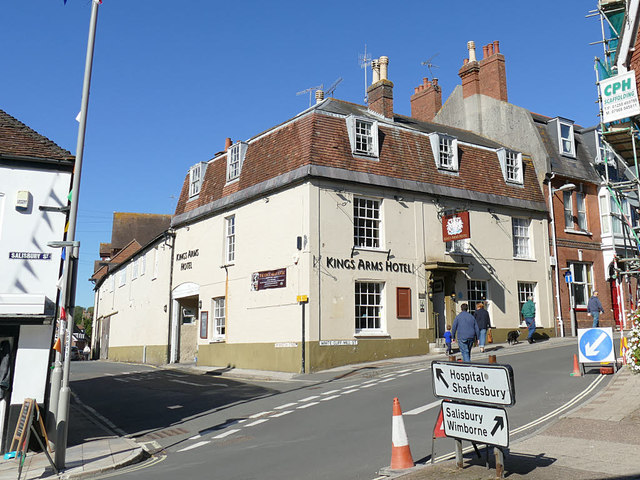 The King's Arms, Blandford Forum